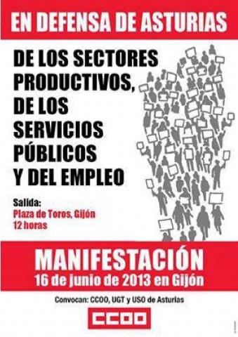 manifestación 16 de junio