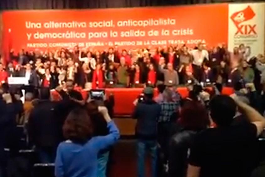 Clausura-del-Congreso-del-XIX-del-PCE