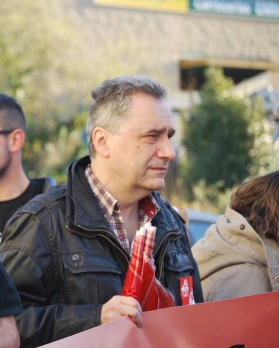 Marcos R. García Roves, Secretario de Movimiento obrero del PCA