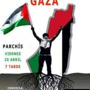Concentracin apoyoa Gran Marcha del Retorno Gaza