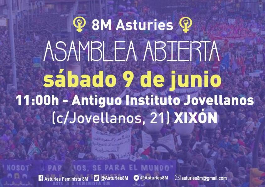 Asamblea Asturies 8M