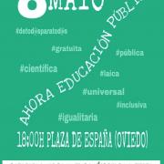 Concentración Educación 8M