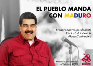 Cartelería Redes eleccciones20Mvenezuela